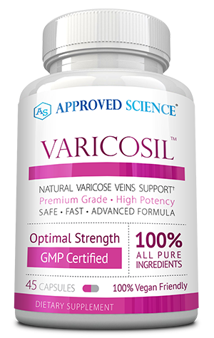 Varicosil ingredients bottle